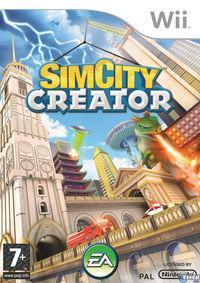 Portada oficial de SimCity Creator para Wii