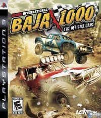 Portada oficial de Score International Baja 1000 para PS3