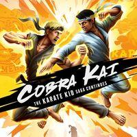 Portada oficial de Cobra Kai: The Karate Kid Saga Continues para PC