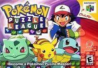 Portada oficial de Pokémon Puzzle League CV para Wii
