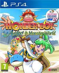 Portada oficial de Wonder Boy: Asha in Monster World para PS4