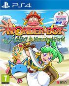 Portada oficial de de Wonder Boy: Asha in Monster World para PS4