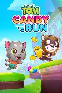 Portada oficial de Talking Tom Candy Run para Xbox One