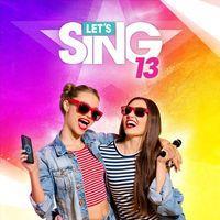 Portada oficial de Let's Sing 13 para PS4