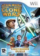 Portada oficial de de Star Wars: The Clone Wars - Lightsaber Duels para Wii