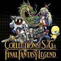 Portada oficial de Collection of Saga: Final Fantasy Legend para Switch