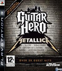 Portada oficial de Guitar Hero: Metallica para PS3