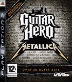 Portada oficial de de Guitar Hero: Metallica para PS3