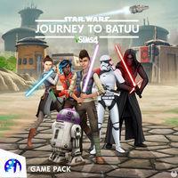 Portada oficial de Los Sims 4 Star Wars: Viaje a Batuu para PC