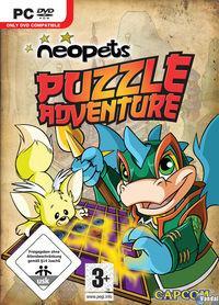 Portada oficial de Neopets Puzzle Adventure para PC