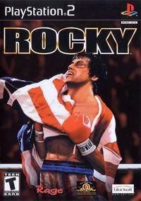 Portada oficial de Rocky para PS2