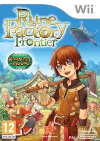 Portada oficial de Rune Factory Frontier para Wii