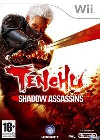 Portada oficial de Tenchu Shadow Assassins para Wii