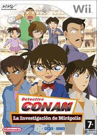 Portada oficial de Detective Conan: La Investigación de Mirápolis para Wii