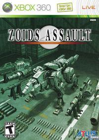 Portada oficial de Zoids Assault para Xbox 360