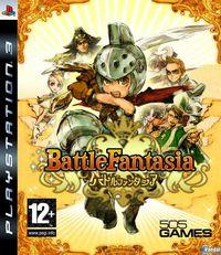Portada oficial de Battle Fantasia para PS3
