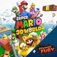 Portada oficial de Super Mario 3D World + Bowser's Fury para Switch