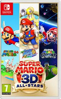Portada oficial de Super Mario 3D All-Stars para Switch