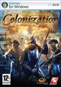 Portada oficial de Sid Meier's Civilization IV: Colonization para PC