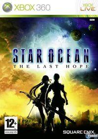 Portada oficial de Star Ocean: The Last Hope para Xbox 360