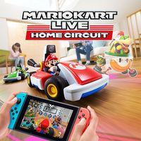 Portada oficial de Mario Kart Live: Home Circuit para Switch