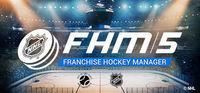 Portada oficial de Franchise Hockey Manager 5 para PC
