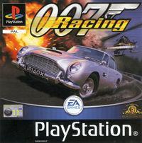 Portada oficial de 007 Racing para PS One