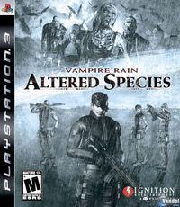 Portada oficial de Vampire Rain: Altered Species  para PS3