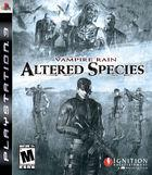 Portada oficial de de Vampire Rain: Altered Species  para PS3