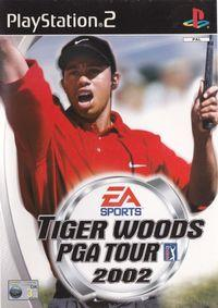 Portada oficial de Tiger Woods PGA Tour 2002 para PS2