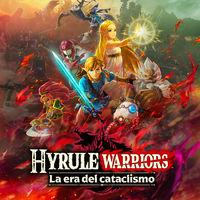 Portada oficial de Hyrule Warriors: La era del cataclismo para Switch