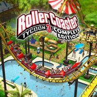 Portada oficial de RollerCoaster Tycoon 3: Complete Edition para Switch