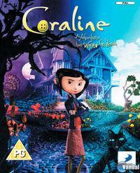 Portada oficial de Coraline para PS3