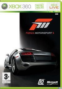 Portada oficial de Forza Motorsport 3 para Xbox 360