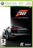 Portada oficial de de Forza Motorsport 3 para Xbox 360