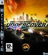 Portada oficial de Need for Speed Undercover para PS3