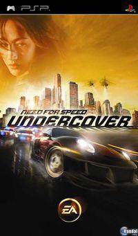 Portada oficial de Need for Speed Undercover para PSP