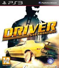 Portada oficial de Driver: San Francisco para PS3