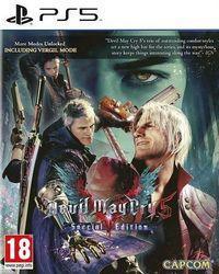 Portada oficial de Devil May Cry 5 Special Edition para PS5