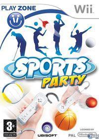 Portada oficial de Sports Party para Wii