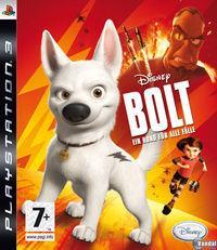 Portada oficial de Bolt para PS3
