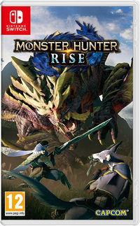 Portada oficial de Monster Hunter Rise para Switch