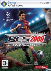 Portada oficial de Pro Evolution Soccer 2009 para PC