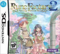 Portada oficial de Rune Factory 2: A Fantasy Harvest Moon para NDS