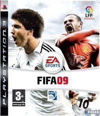 Portada oficial de FIFA Soccer 09 para PS3