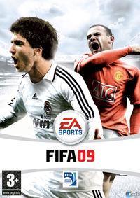 Portada oficial de FIFA Soccer 09 para PC