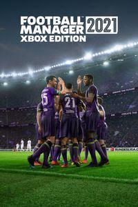 Portada oficial de Football Manager 2021 Xbox Edition para Xbox One