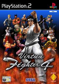 Portada oficial de Virtua Fighter 4 para PS2