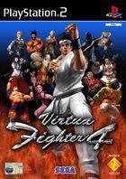 Portada oficial de de Virtua Fighter 4 para PS2