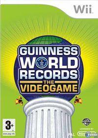 Portada oficial de Los récords Guinness: El videojuego para Wii
